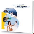 Navigator shorex Brochure, έντυπα για εκδρομές.