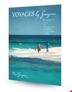 Έντυπα και μπροσούρες για κρουαζιέρες της Paul Gauguin Cruises.