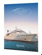 Έντυπα και μπροσούρες της Windstar Cruises.