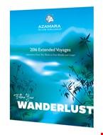 Έντυπα και μπροσούρες της Azamara Club Cruises.