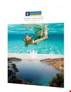 Έντυπα και μπροσούρες της Royal Caribbean Cruises.