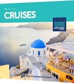 Έντυπα και μπροσούρες της Pullmantur Cruises με κρουαζιέρες.